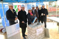 1st Quarter 2017 - Foundation stone ceremony at FTD